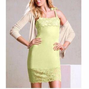 Victoria's Secret Lingerie Inspired Lace Trim Dres